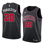 Men's Chicago Bulls Quincy Pondexter Nike Statement Edition Replica Jersey