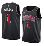 Men's Chicago Bulls Jameer Nelson Nike Statement Edition Replica Jersey