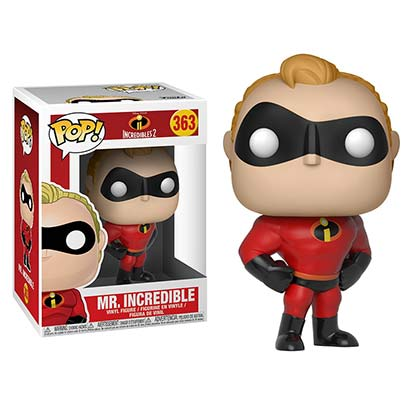 INCREDIBLES 2 Mr. Incredible Funko Pop Figure Toy