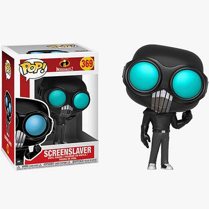INCREDIBLES 2 Screenslaver Funko Pop Figure Toy