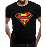 Superman - Logo - Unisex T-shirt Black