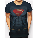 Superman - Sublimated Costume - Unisex T-shirt White