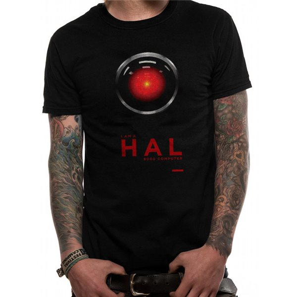 2001 Space Odyssey - Hal 9000 - Unisex T-shirt Black