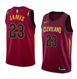Men's Cleveland Cavaliers Lebron James Nike Icon Edition Replica Jersey