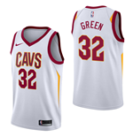Men's Cleveland Cavaliers Jeff Green Nike Association Edition Replica Jersey