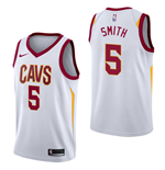 Men's Cleveland Cavaliers JR Smith Nike Association Edition Replica Jersey