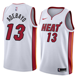 Men's Miami Heat Bam Adebayo Nike Association Edition Replica Jersey