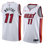Men's Miami Heat Dion Waiters Nike Association Edition Replica Jersey