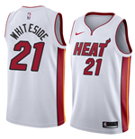 Men's Miami Heat Hassan Whiteside Nike Association Edition Replica Jersey