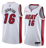 Men's Miami Heat James Johnson Nike Association Edition Replica Jersey