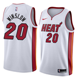 Men's Miami Heat Justise Winslow Nike Association Edition Replica Jersey