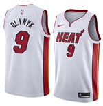 Men's Miami Heat Kelly Olynyk Nike Association Edition Replica Jersey