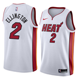 Men's Miami Heat Wayne Ellington Nike Association Edition Replica Jersey
