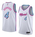 Men's Miami Heat AJ Hammons Nike City Edition Replica Jersey