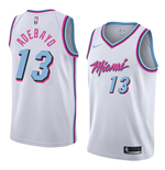 Men's Miami Heat Bam Adebayo Nike City Edition Replica Jersey