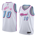 Men's Miami Heat Derrick Jones Jr. Nike City Edition Replica Jersey