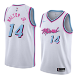 Men's Miami Heat Derrick Walton Jr. Nike City Edition Replica Jersey