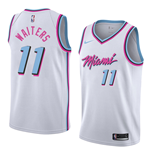 Men's Miami Heat Dion Waiters Nike City Edition Replica Jersey