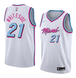 Men's Miami Heat Hassan Whiteside Nike City Edition Replica Jersey