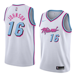 Men's Miami Heat James Johnson Nike City Edition Replica Jersey