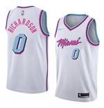 Men's Miami Heat Josh Richardson Nike City Edition Replica Jersey