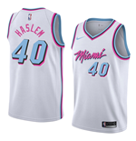 Men's Miami Heat Udonis Haslem Nike City Edition Replica Jersey