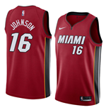 Men's Miami Heat James Johnson Nike Statement Edition Replica Jersey