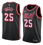 Men's Miami Heat Jordan Mickey Nike Hardwood Classic Replica Jersey