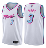 Men's Miami Heat Dwyane Wade Nike City Edition Replica Jersey