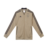 2018-2019 Ajax Adidas Knitted Presentation Jacket (Raw Gold) - Kids