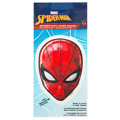 Spider-Man Superhero Mask 4.5 Inch Sticker