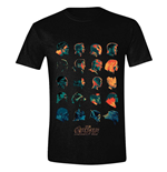 Avengers Infinity War T-Shirt Character Profile