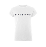 Friends T-shirt Logo (rolled SLEEVE)