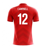 2018-19 Costa Rica Airo Concept Home Shirt (Campbell 12)