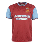 Score Draw West Ham 1994 No6 Home Shirt