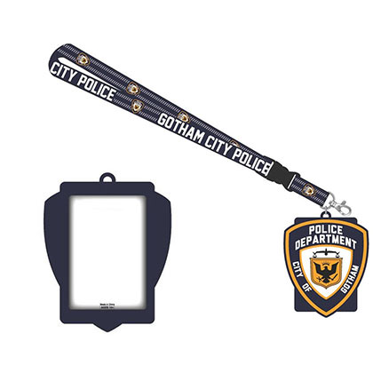 BATMAN Gotham Police Department Lanyard Keychain