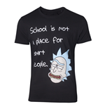 Rick & Morty - A Place For Smart People Men's T-shirt