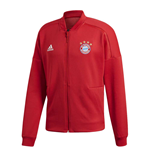 2018-2019 Bayern Munich Adidas ZNE Anthem Jacket (Red)