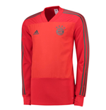 2018-2019 Bayern Munich Adidas Training Top (Red) - Kids