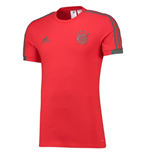 2018-2019 Bayern Munich Adidas Training Tee (Red)