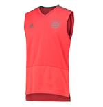 2018-2019 Bayern Munich Adidas Sleeveless Shirt (Red)