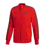 2018-2019 Bayern Munich Adidas Presentation Jacket (Red)