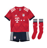 2018-2019 Bayern Munich Adidas Home Little Boys Mini Kit