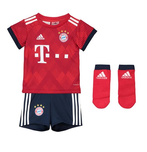 the best attitude 7edd0 1afd8 2018-2019 Bayern Munich Adidas Home Baby Kit