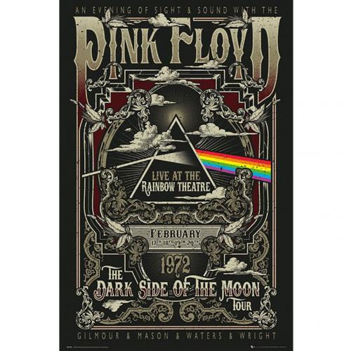 Pink Floyd Poster Rainbow Theatre 237