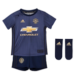 2018-2019 Man Utd Adidas Third Baby Kit