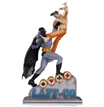 DC Comics Statue  Batman vs The Joker Laff-Co Battle 34 cm