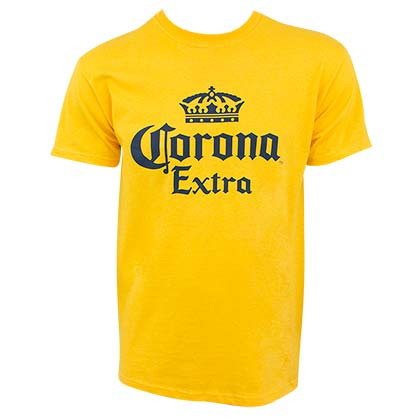 CORONA EXTRA Logo Yellow Men's TShirt
