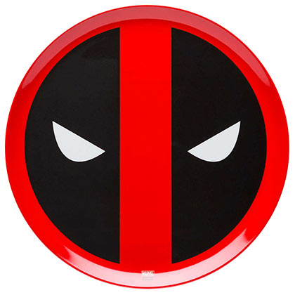 DEADPOOL Plastic Melamine Dinner Plate