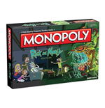 Rick and Morty Board Game Monopoly *English Version*